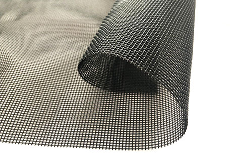 Heavy duty vinyl coated mesh tarps